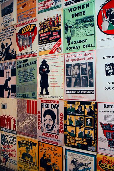 Apartheid Museum<br /> Soweto
