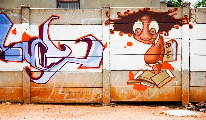 Biko Graffiti<br /> Soweto