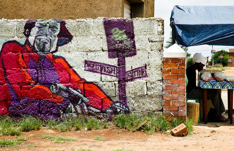Graffiti<br /> Soweto
