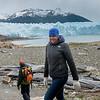 Tourists on Perito Moreno Glacier, Los Glaciares National Park, Santa Cruz Province, Patagonia, Argentina