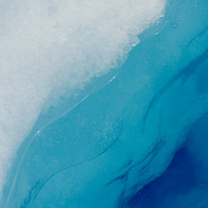Melting iceberg, Perito Moreno Glacier, Lake Argentino, Los Glaciares National Park, Santa Cruz Province, Patagonia, Argentina