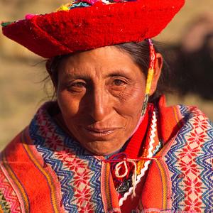 Indigenous Peruvian Woman