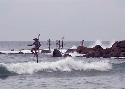 STILT FISHERMAN - GALLE