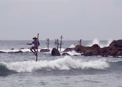 STILT FISHERMAN - GALLE
