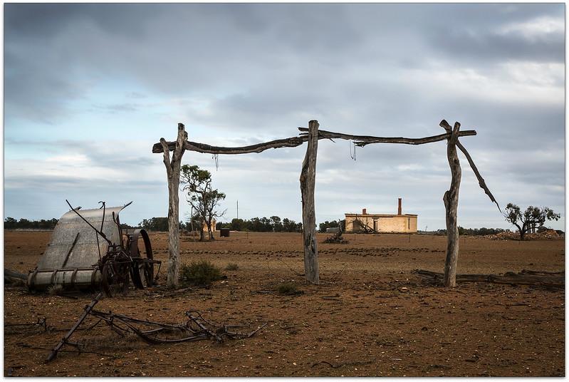 Old  House and farm Burra