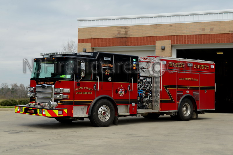 ALLENS, SC HORRY COUNTY ENGINE 27