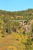 SD BLACK HILLS WIND CAVE NATIONAL PARK ENTRANCE ROAD BRIDGE SEPTAF_MG_8830MMW