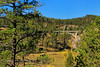 SD BLACK HILLS WIND CAVE NATIONAL PARK ENTRANCE ROAD BRIDGE SEPTAF_MG_8905MMW