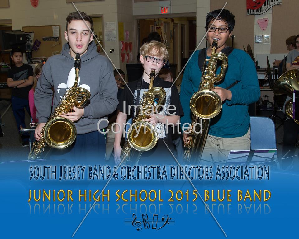 #322 -BLUE BAND-JR HS-GDVH5570