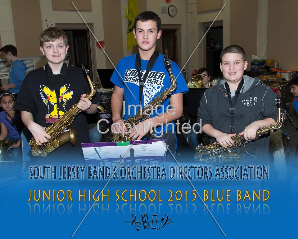 #326 -BLUE BAND-JR HS-GDVH5574