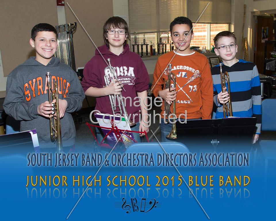 #334 -BLUE BAND-JR HS-GDVH5582
