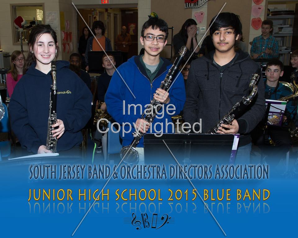 #311 -BLUE BAND-JR HS-GDVH5561