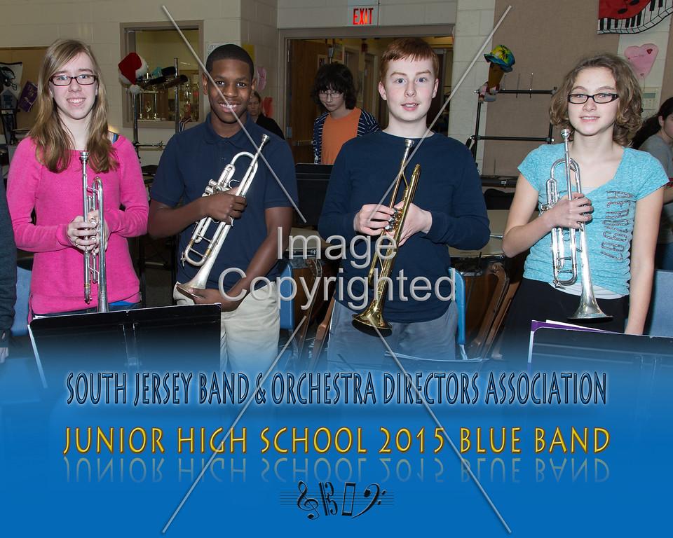 #337 -BLUE BAND-JR HS-GDVH5585