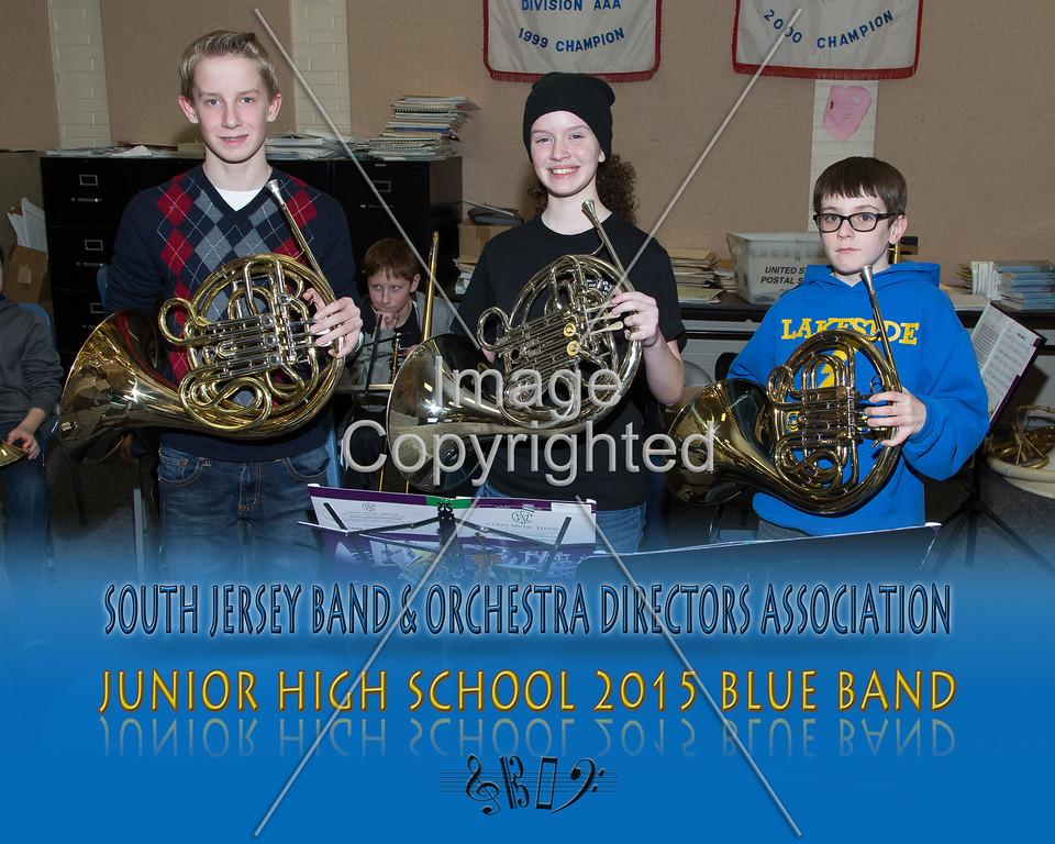 #331 -BLUE BAND-JR HS-GDVH5579