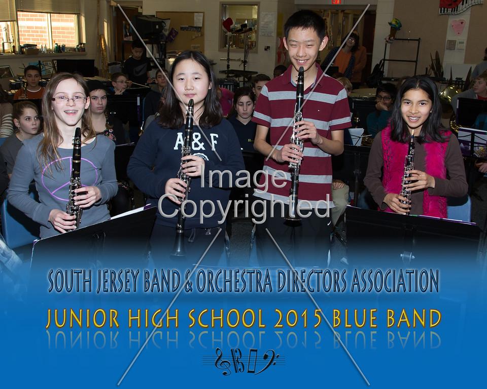 #302 -BLUE BAND-JR HS-GDVH5552