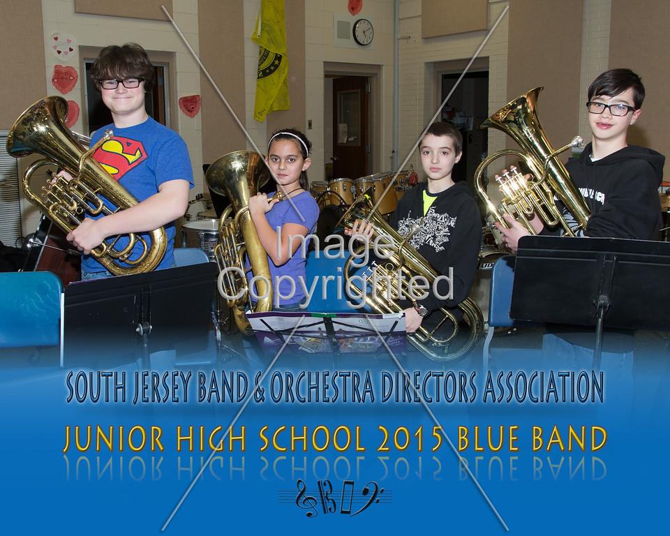 #341 -BLUE BAND-JR HS-GDVH5589