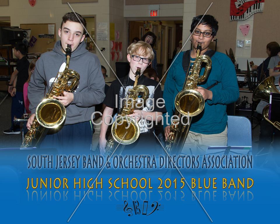 #323 -BLUE BAND-JR HS-GDVH5571