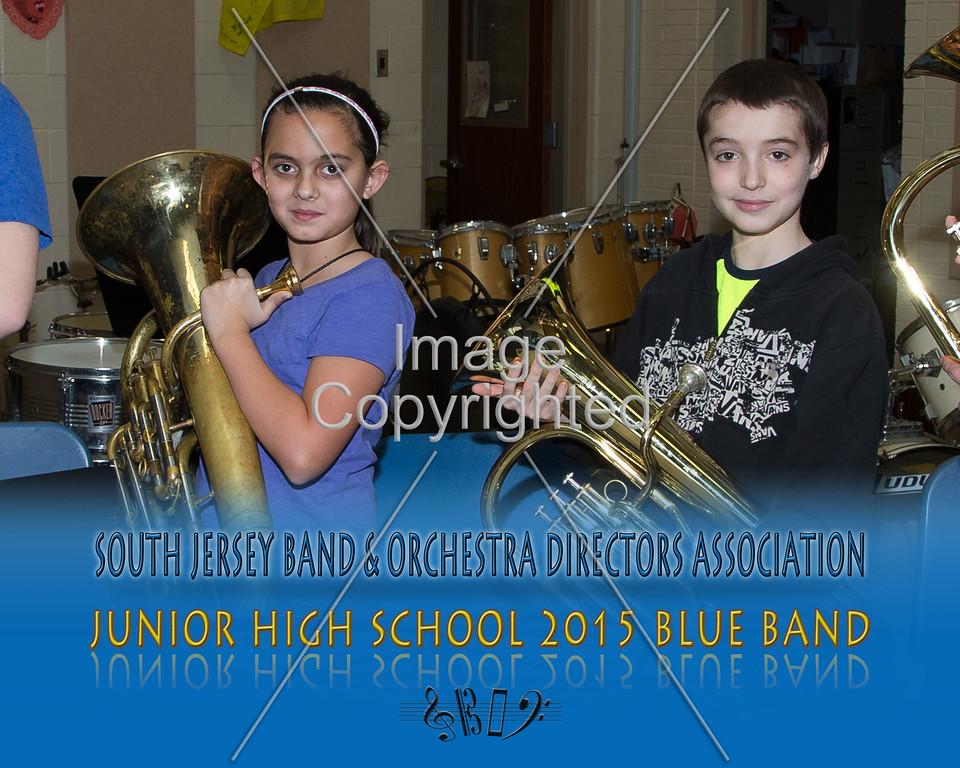 #342 -BLUE BAND-JR HS-GDVH5590