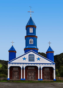 WOODEN CHURCH - CHILOE