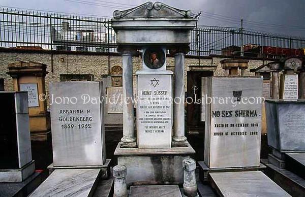 COLOMBIA, Bogota. Cementerio Hebreo del Sur. (2005)