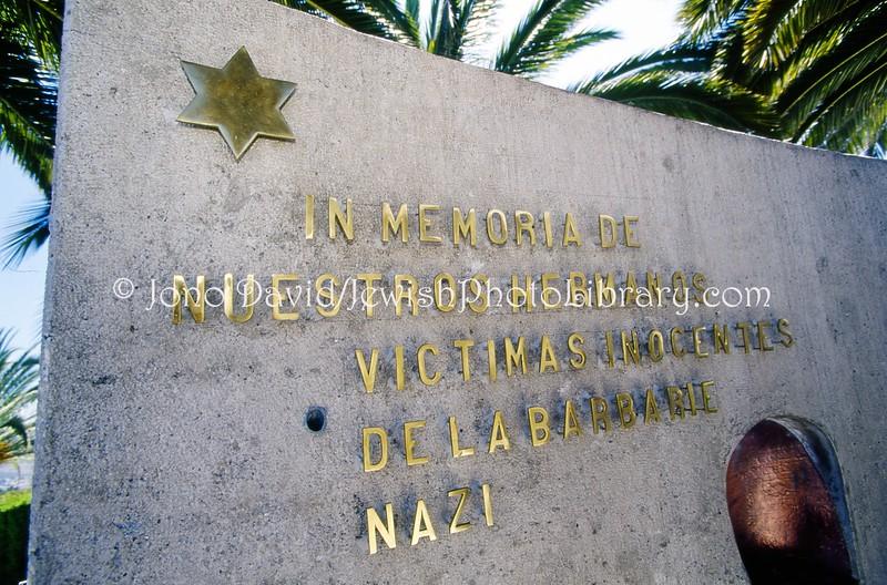 EC 64  Holocaust memorial