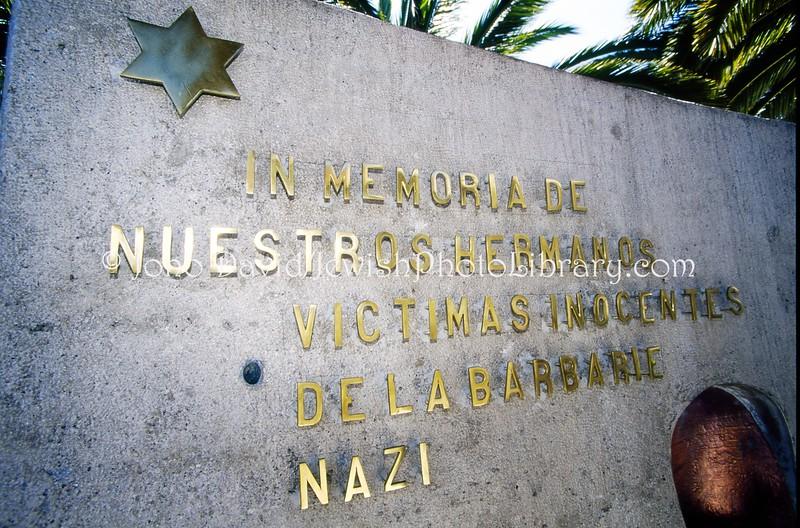 EC 65  Holocaust memorial