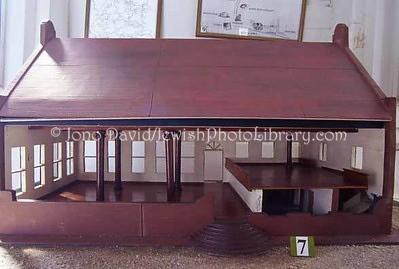 SR 438  Model of Beracha Ve Shalom Synagogue, Jodensavanne