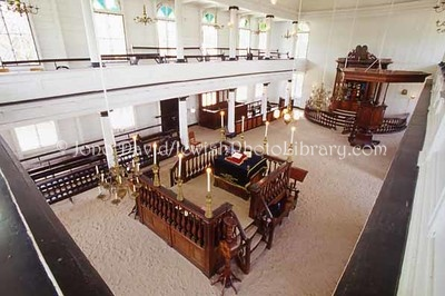 SURINAME, Paramaribo. Neve Shalom Synagogue (built 1719). (2007)