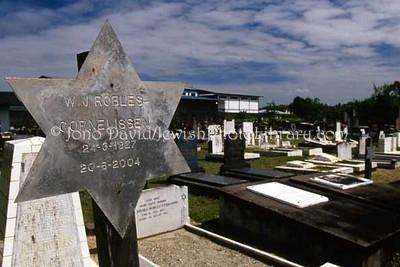 SURINAME, Paramaribo. New Sephardic Cemetery. (2007)