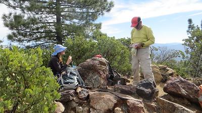 Summit of Cahuilla Mtn