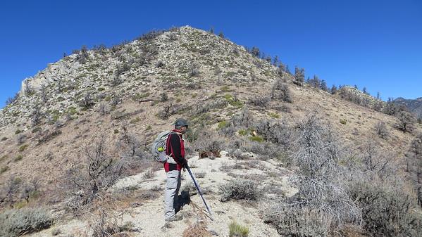 Getting ready to climb peak #2