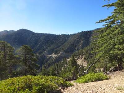 View of the Angeles Crest