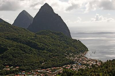 Soufriere,St.Lucia