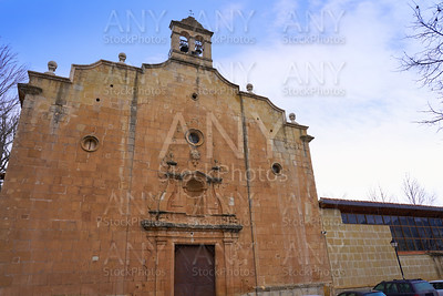 Virgen de la Vega church in Teruel Spain