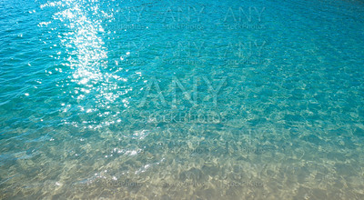 Tropical beach water transparent clear