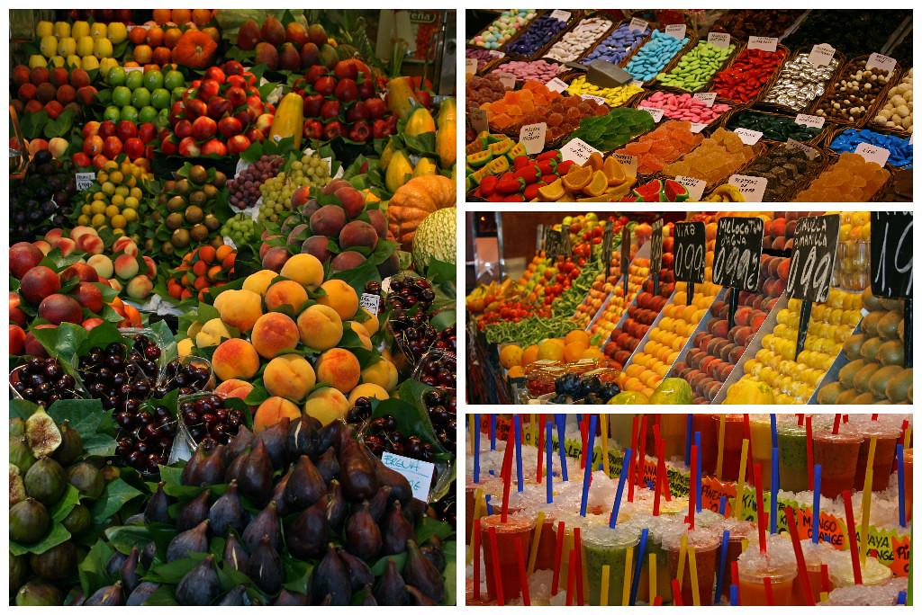 Mercado de La Boqueria Barcelona Market