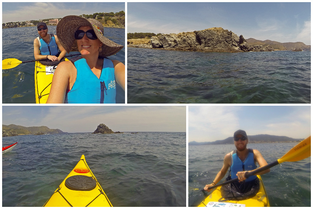 costa brava kayaking