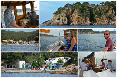 Sailing in Costa Brava
