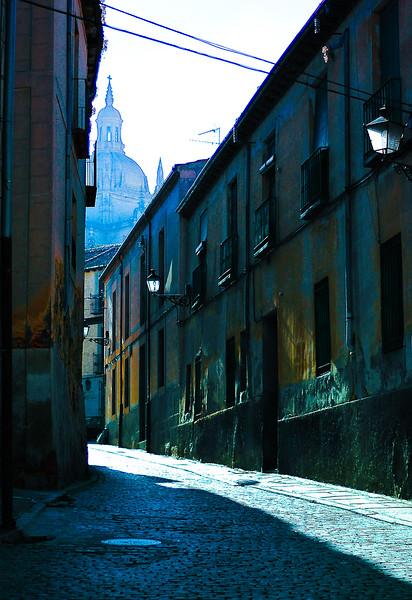 Streets of Segovia <br /> Region of Castilla y León