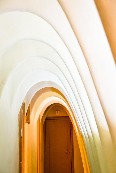 Domed Ceiling<br /> Antoni Gaudí's Casa Batllo<br /> Barcelona