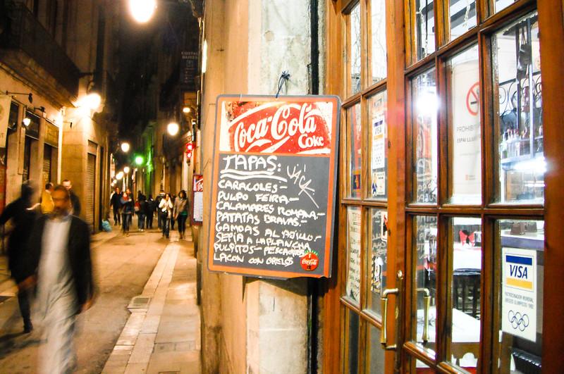 Tapas Restaurante<br /> Barcelona