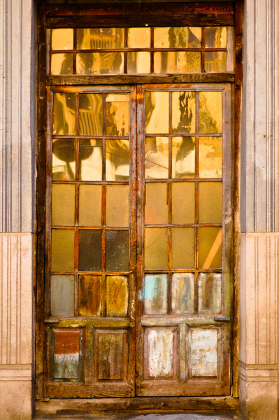 Old French Doors<br /> Segovia, Region of Castilla y León