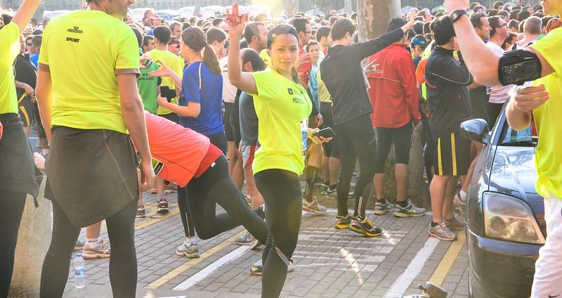 Runners at Mitja Marató Half-Marathon<br /> Barcelona