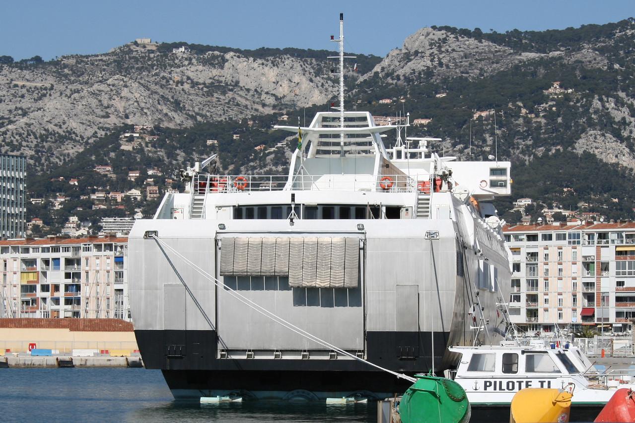 HSC AL SABINI laid up in Toulon.