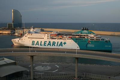2010 - F/B MARTIN I SOLER arriving to Barcelona.
