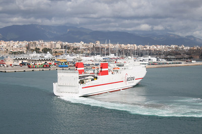 2009 - F/B MURILLO departing from Palma de Mallorca.