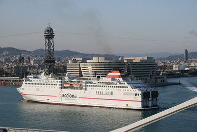 2010 - SOROLLA arriving to Barcelona.