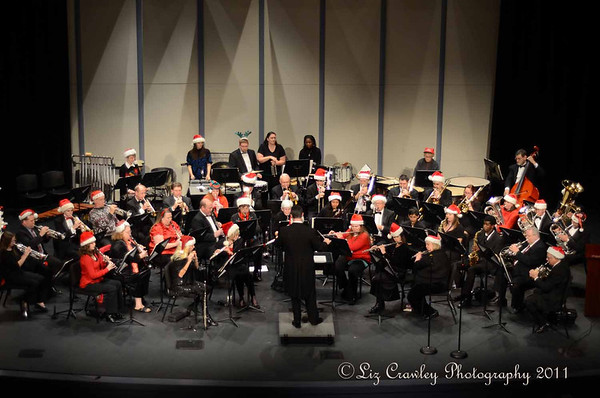 12.17.11 Spartanburg Community Band Christmas Concert