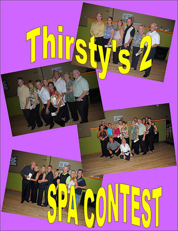 2010 Thirsty's 2 SPA Shag Contest - August