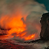 Lava Flow - Ocean Entry-By John German